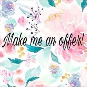 ❤️❤️I accept REASONABLE offers ❤️❤️